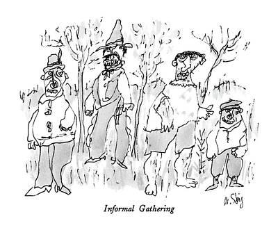 Informal Gathering Art Print