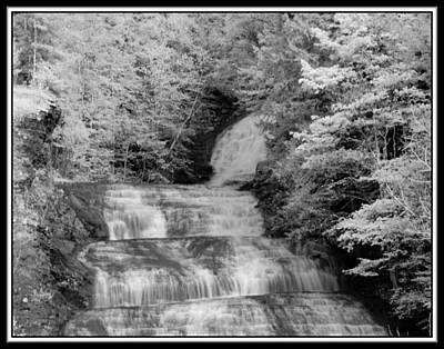 Infrared Buttermilk Falls 2 Original by David Blatchley