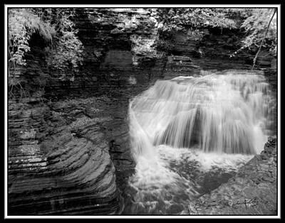 Infrared Buttermilk Falls 7 Original by David Blatchley