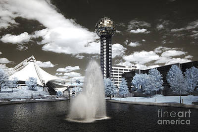 Photograph - Infrared City Park by Paul W Faust -  Impressions of Light