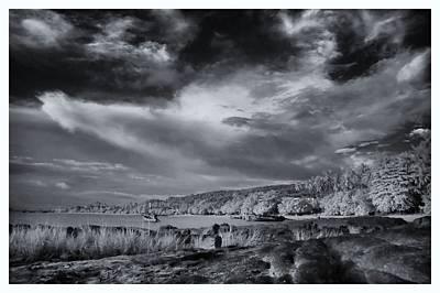 Infrared In Krabi Art Print by River Engel