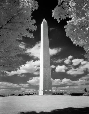 Infra-red Photograph - Infrared Photograph Of Washington by Vintage Images