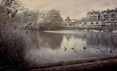 Photograph - Infrared Riverside by Beverly Cash
