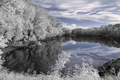 Photograph - Infrared Stillness by Scott Bean
