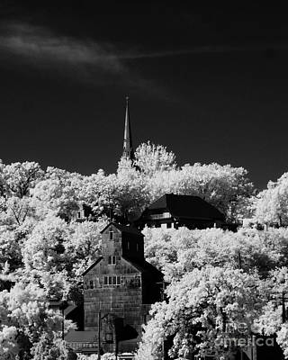 Infrared Stillwater Art Print
