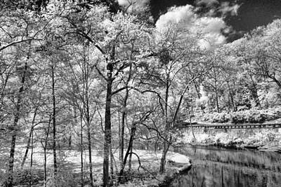 Photograph - Infrared Stream by Michael McGowan