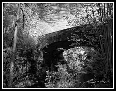 Infrared Upper Buttermilk Falls 19 Original by David Blatchley