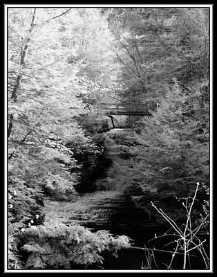Infrared Upper Buttermilk Falls 26 Original by David Blatchley