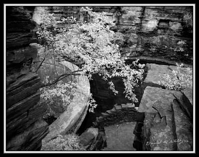 Infrared Upper Buttermilk Falls Dam 22 Original by David Blatchley
