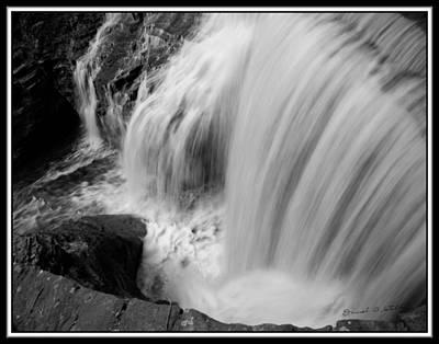 Infrared Upper Buttermilk Falls Original by David Blatchley
