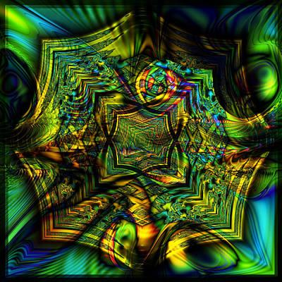 Digital Art - Infuego by Kiki Art