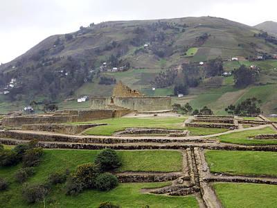 Photograph - Ingapirca Ruins Ecuador by Kurt Van Wagner
