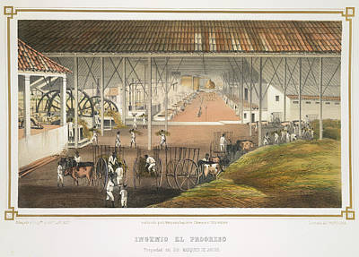 Ingenio El Progreso Print by British Library