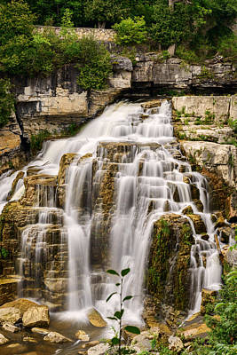 Photograph - Inglis Falls In Owen Sound Ontario Canada by Marek Poplawski