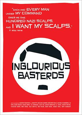 Inglourious Basterds Art Print