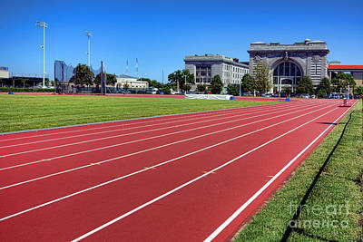 Photograph - Ingram Field At Usna by Olivier Le Queinec