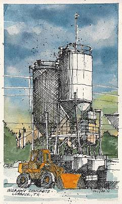Art Print featuring the mixed media Ingram Plant 1 by Tim Oliver