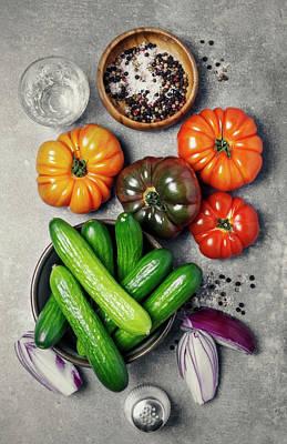 Ingredients Art Print by Claudia Totir