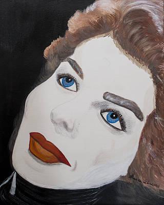 Ingrid From Casa Blanca Art Print