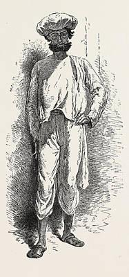Inhabitant Of The Matheran Range Art Print
