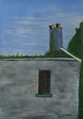 Painting - Inis Meain 12 A Trip For Whiskey by Roland LaVallee
