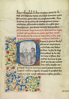 Raising Painting - Initial D Saint Anthony Raising A Dead Man Master by Litz Collection