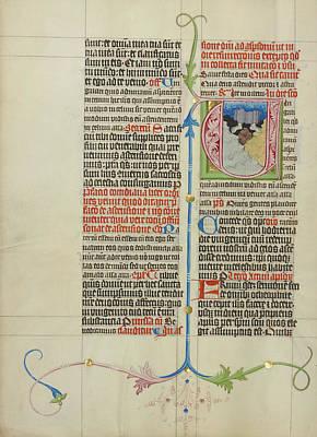 Initial V The Ascension Master Michael, Austrian Art Print