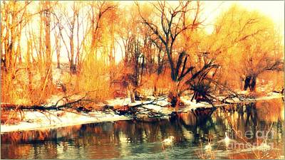 Photograph - Inizio Inverno by Halina Nechyporuk