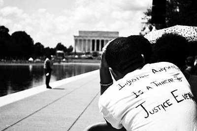 Photograph - Injustice by Jarrett Hendrix