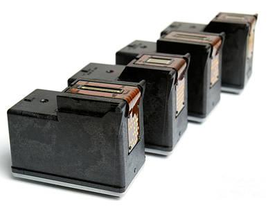 Ink Cartridges Art Print by Sinisa Botas