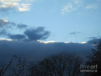Photograph - Inkblot Clouds 3 by Tara  Shalton