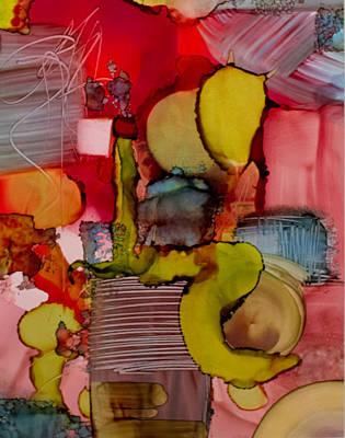 Painting - Inked by Kathy Sheeran
