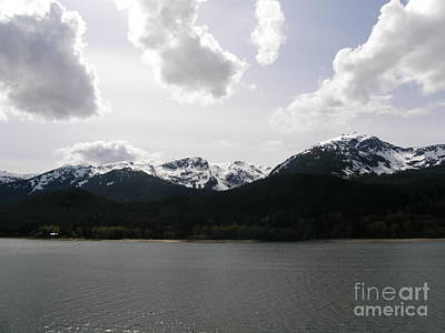 Seascape Photograph - Inland Passage by Bev Conover