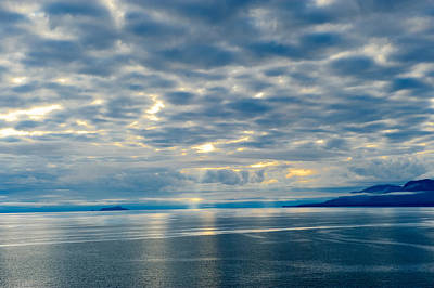 Photograph - Inland Passage In Alaska by Donald Fink