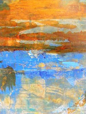 Inland Sea Art Print by Nancy Kane Chapman