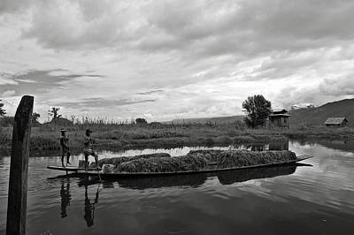 Photograph - Inle Lake In Burma by RicardMN Photography