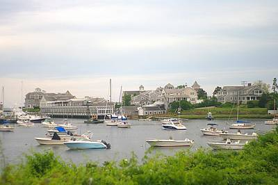Art Print featuring the photograph Inlet At Harwich Cape Cod Maine by Suzanne Powers