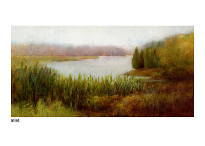 Painting - Inlet by Betsy Derrick