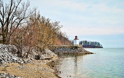 Photograph - Inlet Lighthouse 2 by Greg Jackson