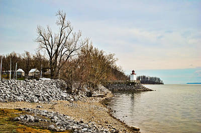 Photograph - Inlet Lighthouse 4 by Greg Jackson