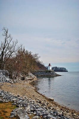 Photograph - Inlet Lighthouse by Greg Jackson