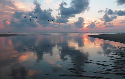 Photograph - Inlet Sunrise by Deborah Smith