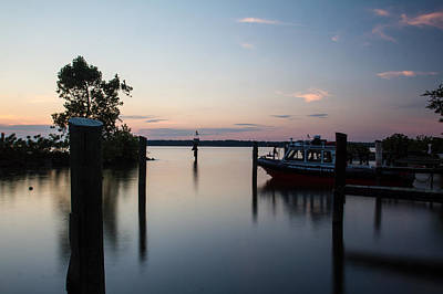 Photograph - Inlet Sunset by Leah Palmer
