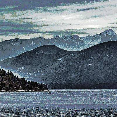 Photograph - Inlet View by Stanley Funk