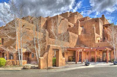 Photograph - Inn At Loretto Santa Fe Nm by Alan Toepfer