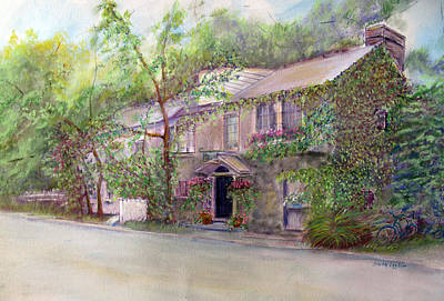 Painting - Inn At Phillips Mill by Loretta Luglio