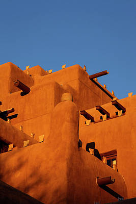 Inn At The Loretto, Santa Fe, New Mexico Print by Julien Mcroberts