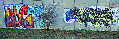 Vandalize Photograph - Inner City by Frozen in Time Fine Art Photography