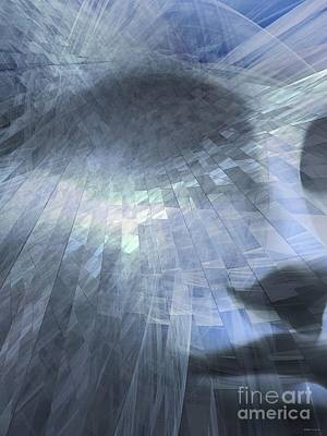Symbolic Patterns Digital Art - Inner Dialog  by Elizabeth McTaggart