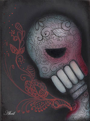 Pop Surrealism Painting - Inner Feelings by  Abril Andrade Griffith